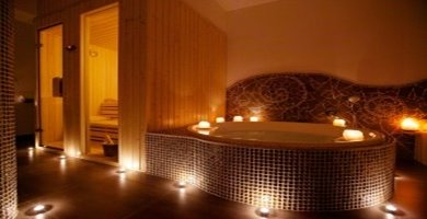 masaj havuzu sauna